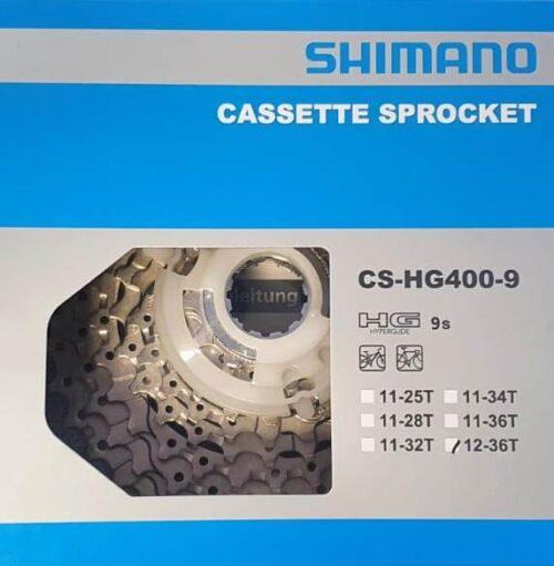 CASSETTA CS-HG400-9 SHIMANO