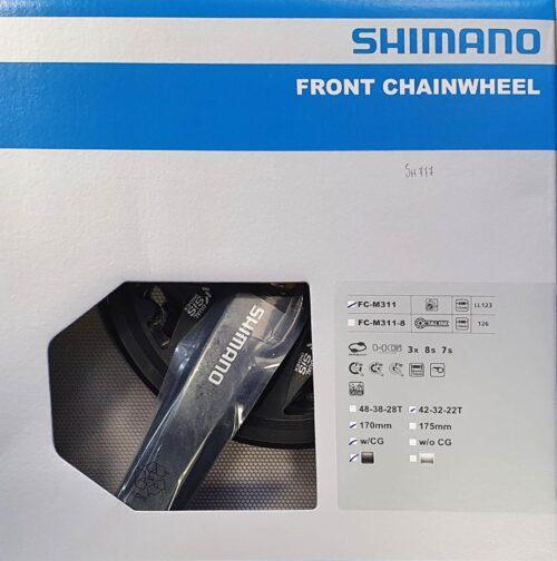GUARNITURA FC-M311 SHIMANO