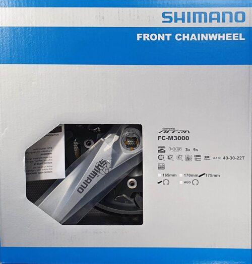 GUARNITURA ACERA FC-M3000 SHIMANO