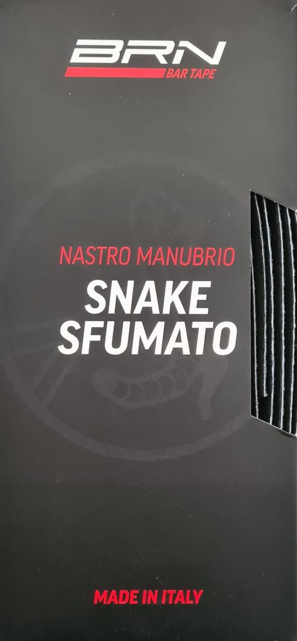 NASTRO MANUBRIO SNAKE SFUMATO BRN